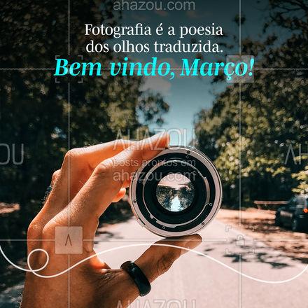 Traduza a essência do momento através das suas fotografias. Bem vindo, Março! ?❤️ #ahazoufotografia  #photography #photooftheday #fotografia #photographer #photo #foto #fotografiaprofissional #picoftheday