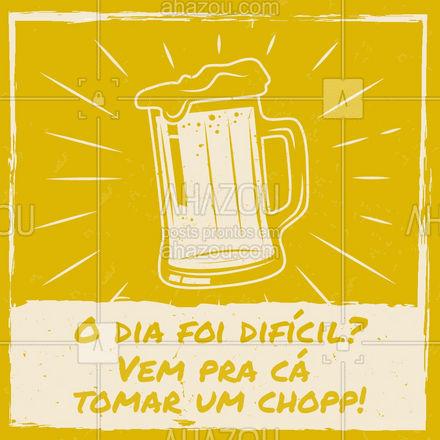 Não tem dia ruim que uma boa torre de chopp não resolva! ?? #chopp #torredechopp #cerveja #ahazoutaste  #bar #pub #lounge