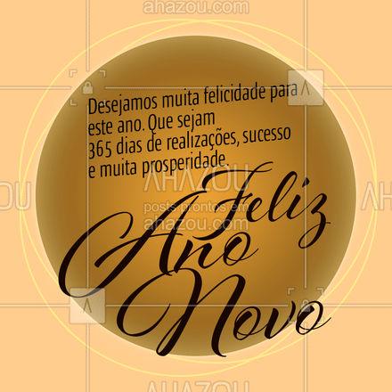 Vamos transformar essa virada de ano em um recomeço de tudo que é bom para que possamos adentrar ao novo ano com as energias recarregadas de pensamentos positivos e boas vibrações. #ahznoel #anonovo  #ahazou  #frasesmotivacionais #motivacional #motivacionais