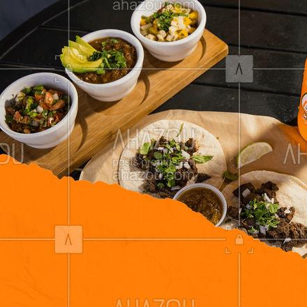 Pode escolher quantos molhos você quiser, nós enviamos pra você! ? #molho #comidamexicana #texmex #ahazoutaste  #cozinhamexicana #vivamexico