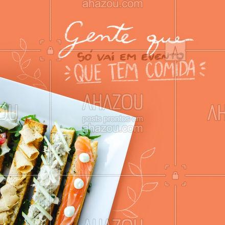 A melhor parte dos eventos é a comida é só minha opinião importa! #ahazoutaste  #eventos #catering #foodie #buffet
