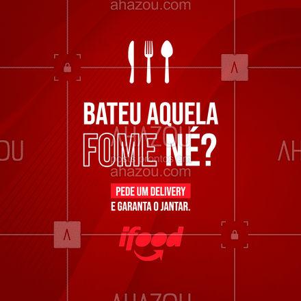 Você não precisa ir pra cozinha hoje. Deixa o seu jantar com a gente. ?  #Jantar #AhazouTaste #Delivery #Gastronomia #Gastro