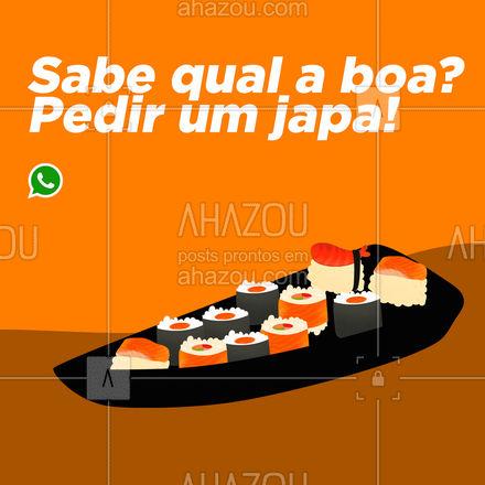 Me escuta que é sucesso! Faça seu pedido! ?(preencher) #ahazoutaste #japa #comidajaponesa #sushidelivery #sushilovers #sushitime #japanesefood #delivery #pedido