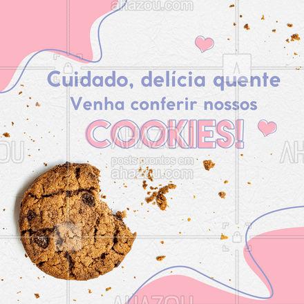 É um cookie melhor do que o outro, venha provar! ?? #cookie #biscoito #ahazoutaste  #bakery  #confeitaria