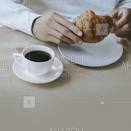 Lanche é com a gente, fresquinho e recheado você pede o seu sabor favorito e aproveita com o seu café ? #ahazoutaste #cafe #lanche #convite #cafeteria #acompanhar