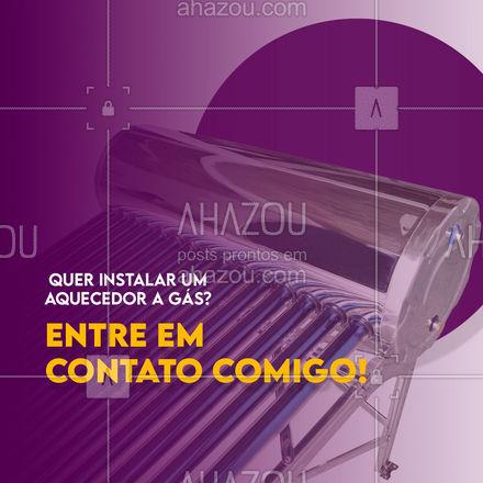 Marque uma visita técnica e faça seu orçamento comigo. #AhazouServiços