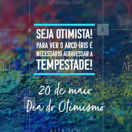 Ser otimista, é saber que mesmo quando os tempos são difíceis, todo ficará bem! #prontaentrega #revendadeprodutos #catalogo #revendedoras #AhazouRevenda #consultoradebeleza #revenda #encomenda #consultora#otimismo #diadootimismo