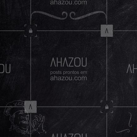 Confira nosso cardápio de sexta-feira. ? #Cardapio #Ahazou #Restaurante #ahazoutaste #editaveisahz #ahazoutaste