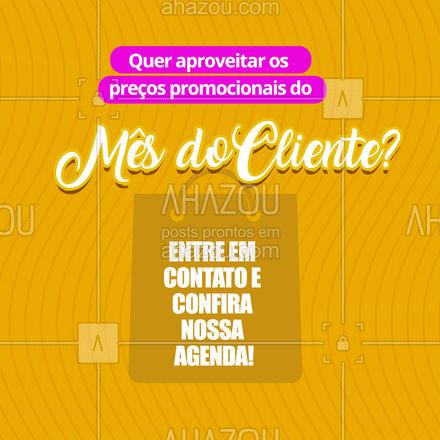 Aproveita que as ofertas valem só para esse mês! #ahazou #mesdocliente  #semanadocliente  #diadocliente #promoção #descontos #oferta