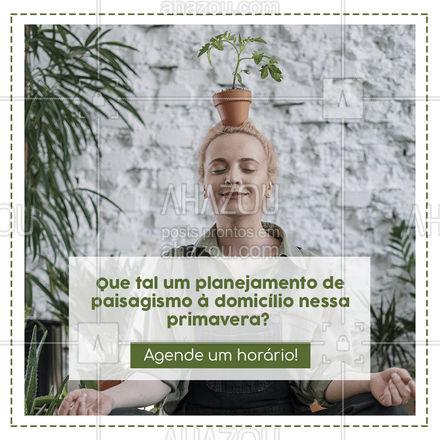 Você vai se surpreender com o que podemos fazer pela sua casa! Não perca essa chance 😉 #AhazouServiços #residencia  #servico  #servicosparacasa  #agendamento #primavera #jardinagem #paisagismo