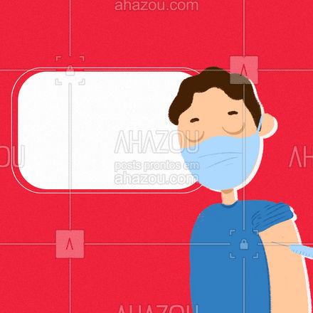 É isso mesmo que você acabou de ler! Corre pra se vacinar, além da imunização contra o vírus você ainda ganha vantagens com a gente 🤩 #AhazouÓticas #promoção #vendasonline #oticas #oculosdesol #vacina