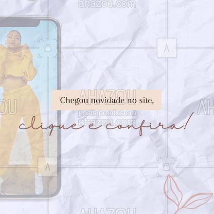 Que tal conhecer a nova coleção? Confira todas as novidades na loja online! #lookdodia #fashionista #fashion #AhazouFashion #moda #OOTD #modafeminina #lojaonline