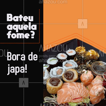É japa de qualidade que você quer? Então toma! Aproveite, já estamos abertos! #ahazoutaste #japa  #sushidelivery  #sushitime  #japanesefood  #comidajaponesa  #sushilovers #pedido #delivery #boradejapa