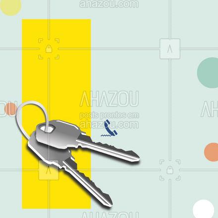 Confecção de chaves é aqui mesmo! Salve o contato para quando precisar! ? #AhazouServiços  #chave #chaveiro #serviços #confecçãodechaves #chaves #aviso #comunicado #cliente #atendimento