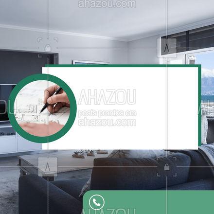 Nossa equipe é especializada em projetos residenciais. Não perca tempo e entre em contato conosco!?? #projeto #arquitetura #casa #projetoresidencial #AhazouDecora #AhazouArquitetura