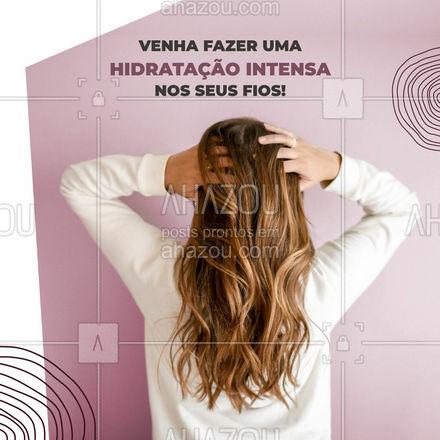 Seu cabelo está precisando de vida? Uma hidratação intensa pode ajudar! Reserve seu horário conosco! 💖😉 #AhazouBeauty #cabeloperfeito  #hair  #hairstylist  #hidratacao   #cabeleireiro  #salaodebeleza  #cabelo