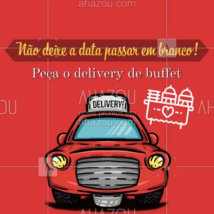 Com o nosso delivery de buffet, você pode comemorar as datas especiais em casa da forma mais deliciosa possível. Saiba mais: (inserir contato) #buffet #delivery #ahazoutaste #catering #eventos #deliverydebuffet