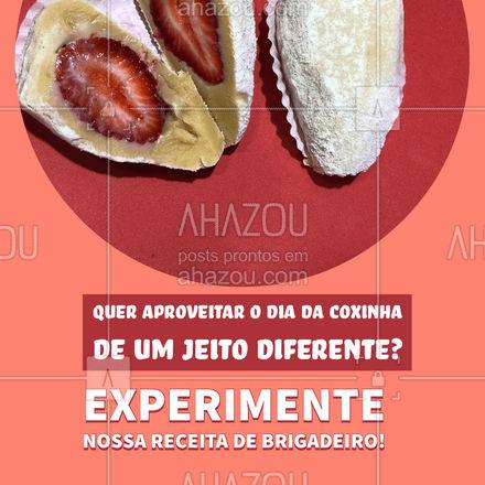 Você leu certo: uma das receitas mais tradicionais do Brasil ganhou um novo recheio! Venha degustar ou peça pelo nosso delivery.  #ahazoutaste  #docinhos #foodlovers #confeitaria