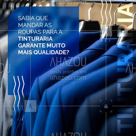 As peças são trabalhadas da mesma maneira que quando novas e, por isso, a cor não tende a desgastar!  #AhazouServiços  #lavanderia #roupalavada #roupalimpa