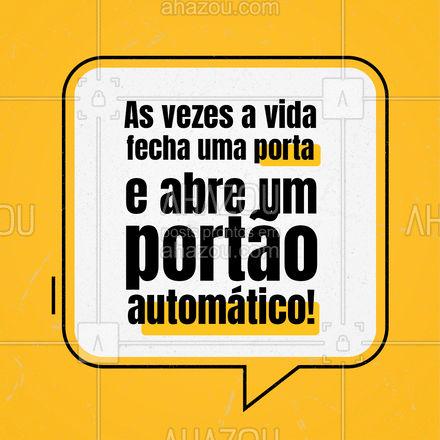 O importante é não desanimar! Seus planos estão à um passo de se tornar realidade, persevere! #frases #portao #vida #motivacao #AhazouServiços #mensagens #esperanca