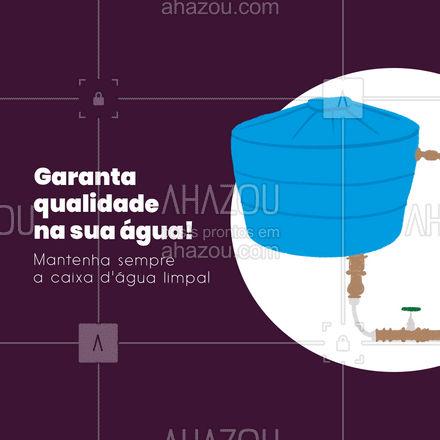 Nós podemos te ajudar com isso! Marque seu horário! #AhazouServiços #dedetizador  #pragas  #dedetizacao #limpeza #limpezadacaixad'água