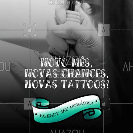 A agenda de fevereiro já está aberta! ? Bora tatuar? ? #agendaaberta #fevereiro #tattoo #ahazouink #tatuagem #ink