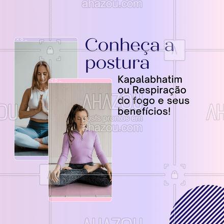 A prática desta postura auxilia na perca de peso, aumenta o metabolismo, auxilia na respiração e na constipação! Alguém aí já conhecia os benefícios? Comenta aqui em baixo! #AhazouSaude #poses #postura #posturadofogo  #yoga  #yogalife