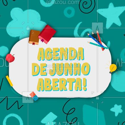 Não perde tempo e escolha logos os seus horários e continue com seus estudos! ? #agenda #agendaaberta #AhazouEdu  #educação #cursinho #aulaparticular
