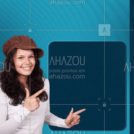 Exclusividade? Temos! Entre em contato e venha conferir📲🤗  #serviços #clientes #atendimento #ahazou