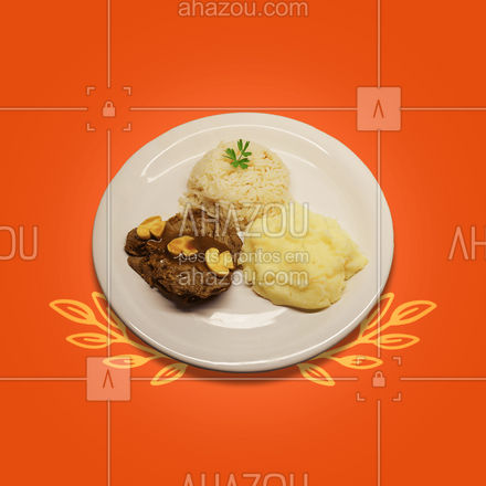 Pratos suculentos e maravilhosos são preparados diariamente para você! Visite-nos e descubra um sabor surpreendente. ? #ahazoutaste  #restaurante #alacarte #foodlovers #selfservice