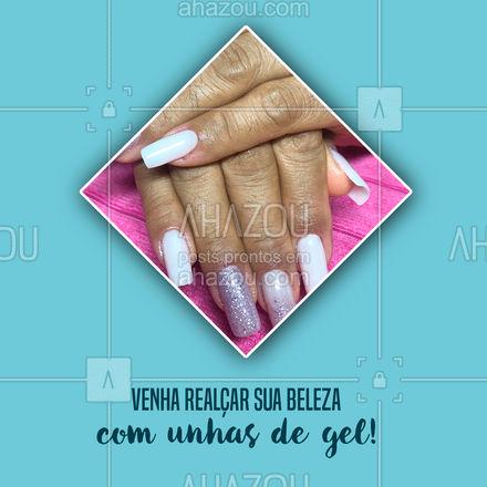 Marque seu horário! Aqui você encontra pacotes personalizados e que cabem no seu bolso! #AhazouBeauty #beleza #unhas #nailart #manicure
