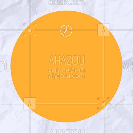 Estamos mantendo toda a segurança para que sua visita seja sem preocupações!  #ahazou #faseamarela