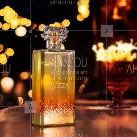 O glamour de Ibiza em uma fragrância moderna, audaciosa que expressa sensualidade e emoção. Para mulheres que celebram a liberdade, diversidade e criatividade. Expresse o que há de melhor em você com essa fragrância floral frutal que combina com todas as ocasiões. Experimente e nos conte o que achou! #AbelhaRainha #Perfume #Lançamento #Fragrancia #Perfumaria ⠀ #ahazouabelharainha #ahazourevenda