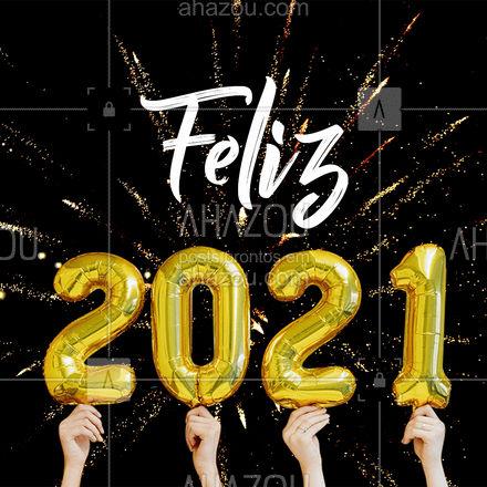 Se você puder fazer um desejo, qual você escolhe para realizar esse ano??  #BemVindo #2021 #AnoNovo #Ahazou