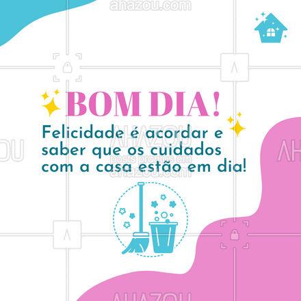 Que seu dia seja incrível, sabendo que sua casa está sendo bem cuidada por excelentes profissionais! #residencia #conserto #servico #atendimento #AhazouServiços #servicosparacasa #servicos #postdefrase #motivacional #bomdia #frasesdebomdia
