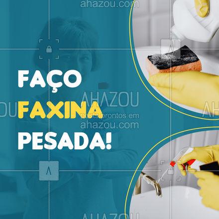 Precisando de algum de confiança e que faça uma faxina pesada de qualidade? Então você encontrou! Entre em contato 📞 (inserir número) e agende seu horário! #faxinaresidencial #faxina #faxinaeventos #AhazouServiços #faxinacorporativa #faxineira #faxineiro #limpezapesada