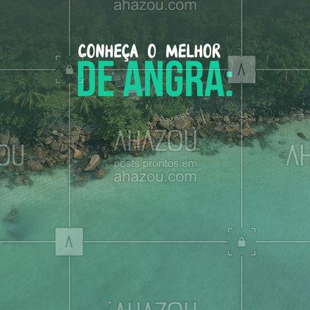 São 365 ilhas para você se apaixonar, com inúmeras praias e uma biodiversidade incrível. ? O que você está esperando para fechar esse pacotão? ? #angra #Angradosreis #AhazouTravel    #viagempelobrasil  #agenciadeviagens  #trip  #agentedeviagens