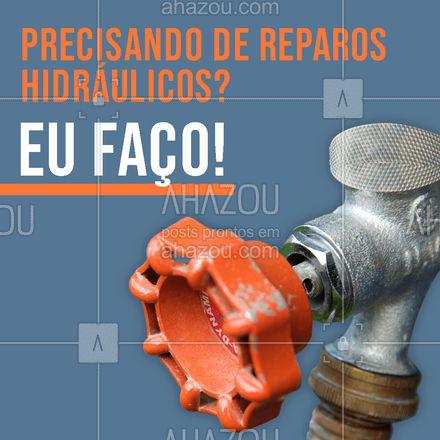 Precisou? Chamou! Estou à sua disposição 😉🔧 #reparoshidráulicos #maridodealuguel #serviços #AhazouServiços  #manutençao