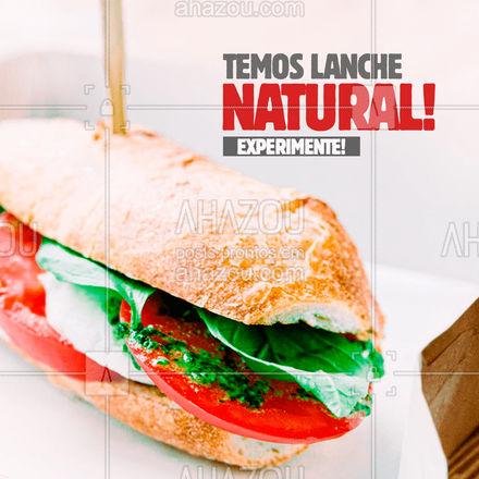 Aqui tem lanche natural de dar água na boca! Experimente ? #ahazoutaste  #padaria #panificadora #cafedamanha #lanche #pedido #lanchenatural #experimente #saudável