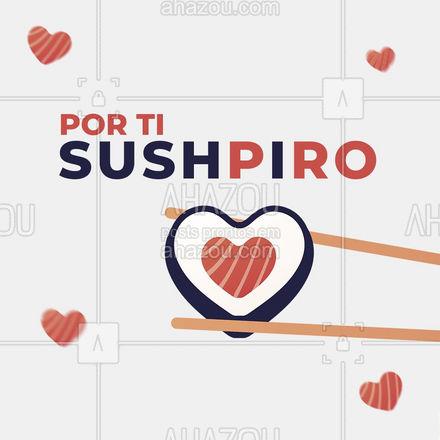 Qual o prato japonês que te faz suspirar??   #ahazoutaste  #japa #sushidelivery #sushitime #japanesefood #sushilovers #comidajaponesa #frase #motivacional