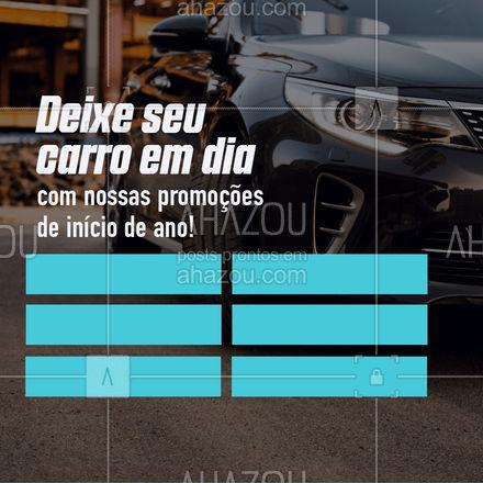 A agenda de janeiro está aberta! Marque seu serviço e comece o ano com tudo em dia.  #AhazouAuto  #eletricaautomotiva #carros #automotiva