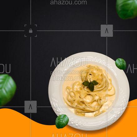 O restaurante italiano que você mais ama já está de portas abertas esperando seu pedido! Peça já pelo delivery! ? #ahazoutaste #restauranteitaliano #massas #comidaitaliana #italianfood #cozinhaitaliana #italy #pedido #delivery #entrega #online