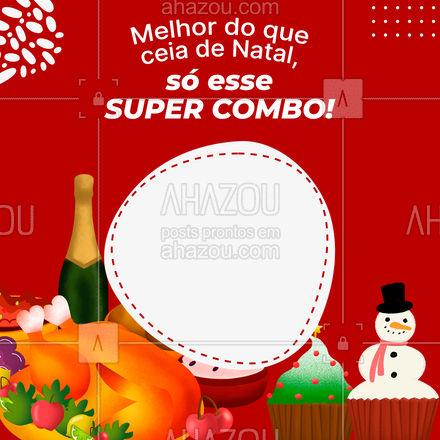Fim de ano pede um combo desses para comemorar! ? #Combo #fimdeano #promoção #ahazoutaste  #gastronomia #foodlover #culinaria