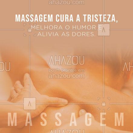 O que você está esperando para agendar sua sessão? ?? #massagem #massoterapia #AhazouSaude  #relax #massoterapeuta #quickmassage