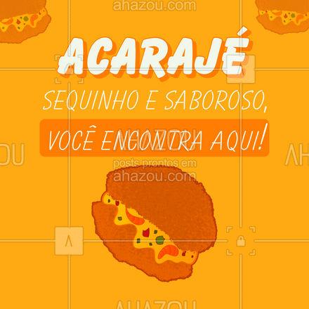Bateu aquela fome de acarajé? Aqui você encontra um acarajé sequinho e saboroso! Entre em contato e peça o seu! #eat #ilovefood #instafood #foodlovers #acaraje #coidaboa #sabordabahia #comidbahiana