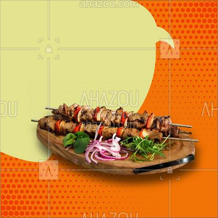 Aproveite nossa variedade de espetinhos, peça já! ?? #ahazoutaste #churrasco #açougue #churrascoterapia #meatlover