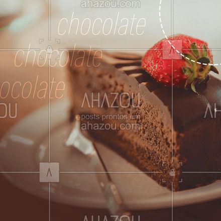 Para comemorar o dia nacional do chocolate peça uma de nossas maravilhosas sobresas! Venha nos visitar ou peça pelo delivery. #gastronomy #foodie #gastronomia #foodlover #ahazoutaste #culinaria #instafood #diadochocolate #dianacionaldochocolate #chocolate