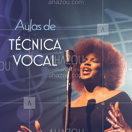 Técnicas específicas para o aperfeiçoamento do canto ? Venha conhecer nossa escola e faça já sua matrícula! #tecnicavocal #vocalcoach #AhazouEdu #cantar #auladecanto