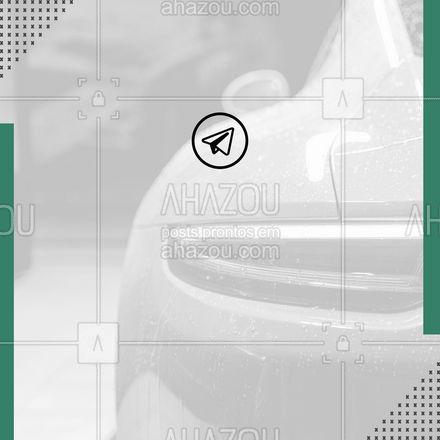 Passando para te avisar seu lavajato preferido está no Telegram! ? #AhazouAuto  #esteticaautomotiva #automotivos #esteticaelavajato #servicoautomotivo #carros #limpezadecarros #carro #lavajato #automotiva #telegram #contato #aviso #cliente