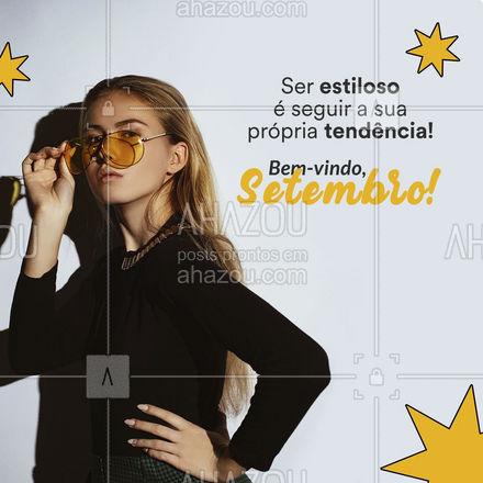Vista aquilo que lhe faz bem! Que setembro lhe traga muitas coisas coisas boas! ? #AhazouFashion #fashion  #OOTD  #moda  #outfit  #style  #lookdodia